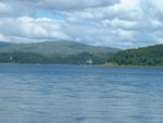 Looking up Loch Aline towards Ardtornish House